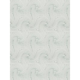 Anytime Swirl Teal Fabric