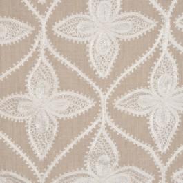 WOODY NATURAL RM Coco Fabric | The Fabric Co