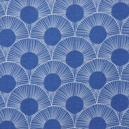 CARTER NAVY RM Coco Fabric | The Fabric Co