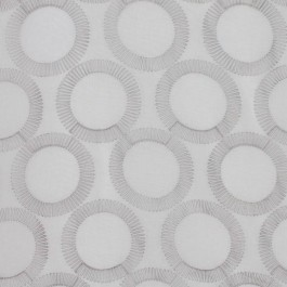 FULL CIRCLE SILVER RM Coco Fabric | The Fabric Co