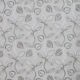 MEADOWKNOLL SILVER RM Coco Fabric | The Fabric Co