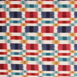 PAINTED SANDS AMERICANA RM Coco Fabric | The Fabric Co