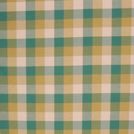 COLBURN CHECK BLUE SPRUCE RM Coco Fabric | The Fabric Co
