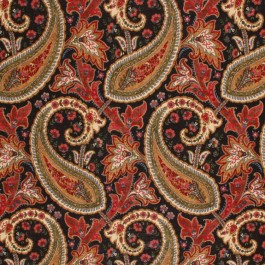 CARAVELA PAISLEY SPICE RM Coco Fabric | The Fabric Co