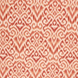 SANJAY IKAT PERSIMMON RM Coco Fabric | The Fabric Co