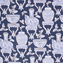 CHINOIS INDIGO RM Coco Fabric | The Fabric Co