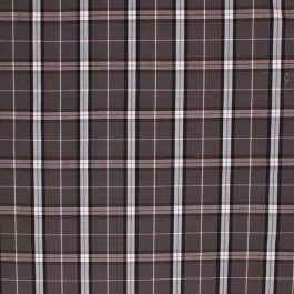 BAXTER PLAID CHARCOAL RM Coco Fabric | The Fabric Co