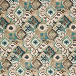 MUGHAL AQUARIUS RM Coco Fabric | The Fabric Co