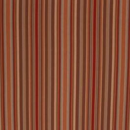 BROMPTON STRIPE MAHOGANY RM Coco Fabric | The Fabric Co