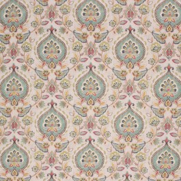 CURZON GARDENS BAY WATER RM Coco Fabric