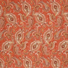 KENILWORTH PAISLEY RUSSET RM Coco Fabric | The Fabric Co