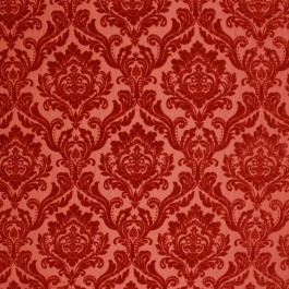 RITZ DAMASK RUST RM Coco Fabric | The Fabric Co