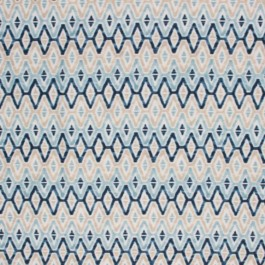 WOODSTOCK BLUE - CHECK REPEATS RM Coco Fabric | The Fabric Co