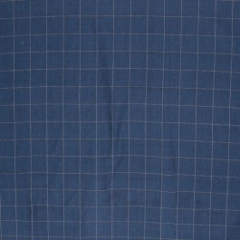 PICKWICK CHECK COBALT RM Coco Fabric | The Fabric Co
