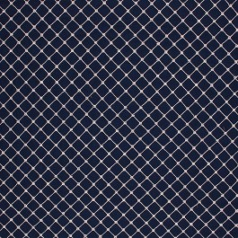 LARIAT NAVY RM Coco Fabric | The Fabric Co