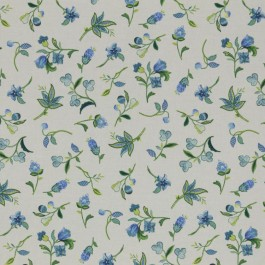 Pixie Floral Bluebell RM Coco Fabric | The Fabric Co