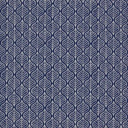 Foliage Tour Navy RM Coco Fabric | The Fabric Co