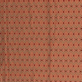 Notting Hill Red RM Coco Fabric | The Fabric Co