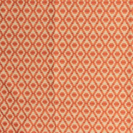 Step Up Trellis Melon RM Coco Fabric | The Fabric Co