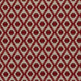 Step Up Trellis Cherry RM Coco Fabric | The Fabric Co