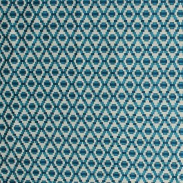 Step Up Trellis Aquamarine RM Coco Fabric | The Fabric Co
