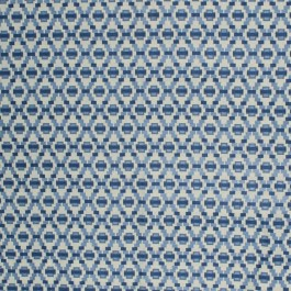 Step Up Trellis Delft RM Coco Fabric | The Fabric Co