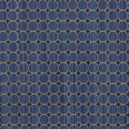 Rizzolli Navy RM Coco Fabric | The Fabric Co