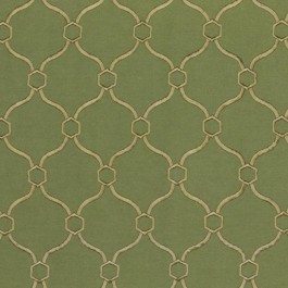 Picardie Trellis Fern RM Coco Fabric | The Fabric Co