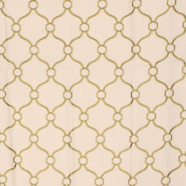 Picardie Trellis Grass RM Coco Fabric | The Fabric Co