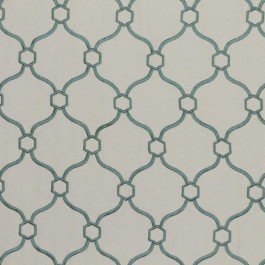 Picardie Trellis Spa RM Coco Fabric | The Fabric Co