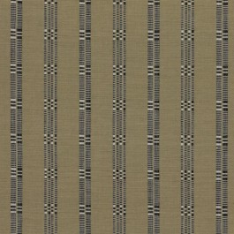 Metro Stripe Stone RM Coco Fabric | The Fabric Co