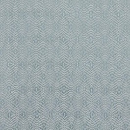 Ogee Trellis Aqua RM Coco Fabric | The Fabric Co