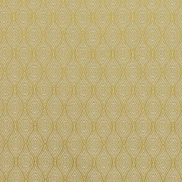 Ogee Trellis Gold RM Coco Fabric | The Fabric Co