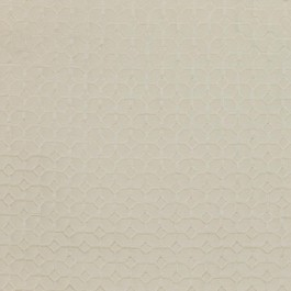 Coffered Ivory RM Coco Fabric   The Fabric Co