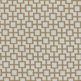 Ming Fret Natural RM Coco Fabric   The Fabric Co