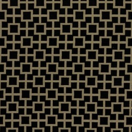 Ming Fret Onyx RM Coco Fabric | The Fabric Co