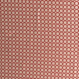 Ring Out Cranberry RM Coco Fabric   The Fabric Co