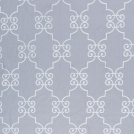 French Quarter Silver Cloud RM Coco Fabric | The Fabric Co