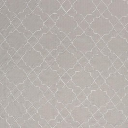 San Remo Trellis Taupe RM Coco Fabric | The Fabric Co