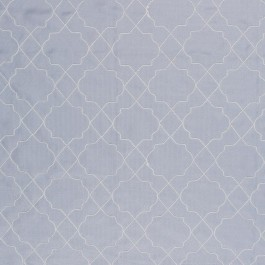 San Remo Trellis Silver Cloud RM Coco Fabric | The Fabric Co