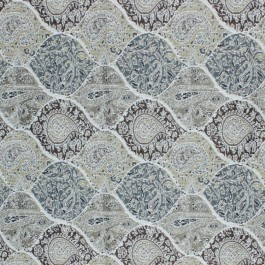 Bridlewood Paisley Platinum RM Coco Fabric | The Fabric Co