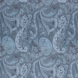 Westport Paisley Platinum RM Coco Fabric | The Fabric Co