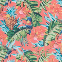 Parrot Clay Happiness RM Coco Fabric   The Fabric Co