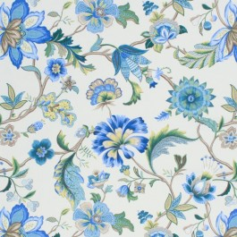 Queen's Garden Bluebell RM Coco Fabric | The Fabric Co