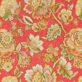 Hyde Park Coral RM Coco Fabric | The Fabric Co