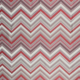 Nippon Chevron Clay RM Coco Fabric | The Fabric Co