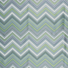 Nippon Chevron Lime RM Coco Fabric | The Fabric Co