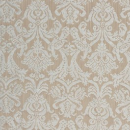 Delacroix Damask Beige RM Coco Fabric | The Fabric Co