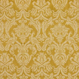 Delacroix Damask Gold RM Coco Fabric   The Fabric Co
