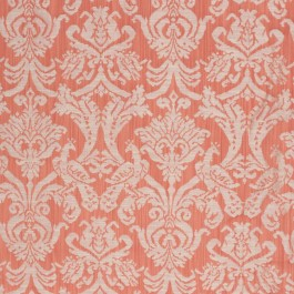 Delacroix Damask Nectarine RM Coco Fabric   The Fabric Co